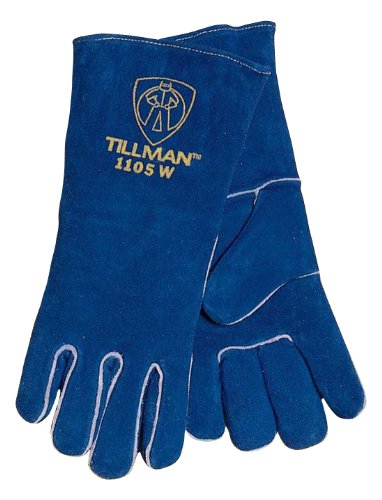 Tillman 1105W Women's Select Split Cowhide Welding Gloves, XX-Small |P by Tillman