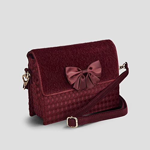 Mandalay Bag Strap Ruby Women's Burgundy Chain Shoo Clutch 4YI4gxqE