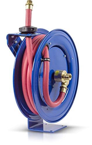 Fuel Hose Reel - Coxreels SHF-N-525 Fuel reel, Single pedestal hose reel with Super Hub, spring driven. 3/4