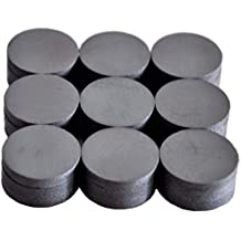 Cutequeen 27PCS Round Ceramic Industrial Ferrite Magnets for hobbies,Crafts,Science and Refrigerator magnet