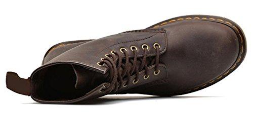 11sunshop Schoenen Leren Laarzen Model Crusers Van Hgilliane Ontwerp Bruin In 33-46