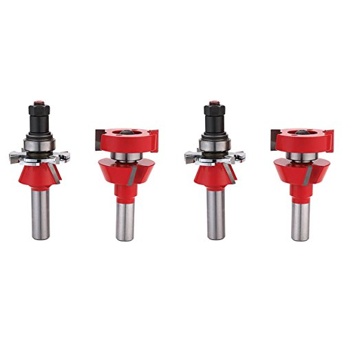 Freud 99-762 22 Degree Adjustable Rail/Stile (Shaker Profile) Router Bit, ()