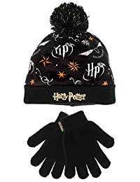 8811f2bf8ca Harry Potter Girls Hat   Gloves Set One Size