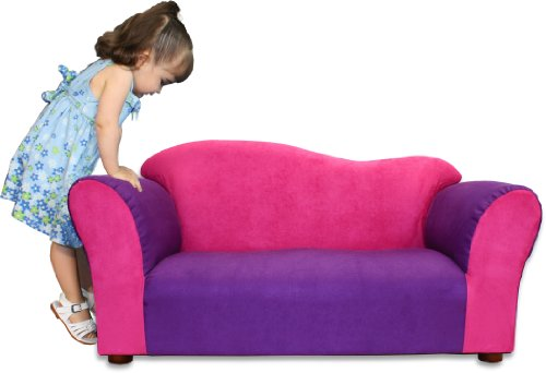 KEET Wave Kid's Sofa, Pink/Purple
