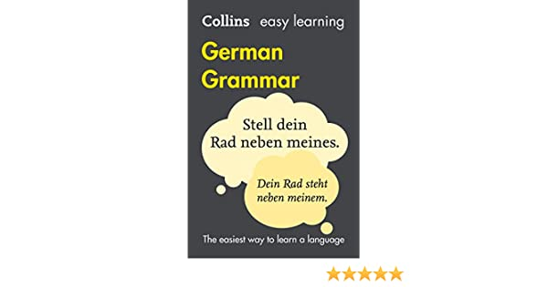 Amazon easy learning german grammar collins easy learning amazon easy learning german grammar collins easy learning german german edition ebook collins dictionaries kindle store fandeluxe Image collections
