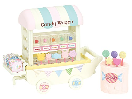 (Calico Critters Candy Wagon)