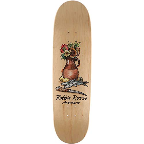 (Anti-Hero Russo Still Life Skateboard Deck - 8.75