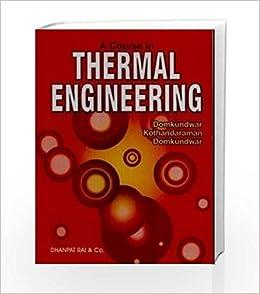 thermal engineering by kothandaraman