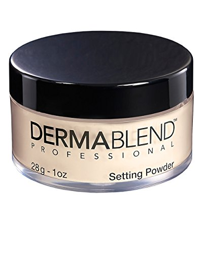Dermablend Loose Translucent Setting Powder for Up to 16 Hours of Coverage, Cool Beige, 1 oz.