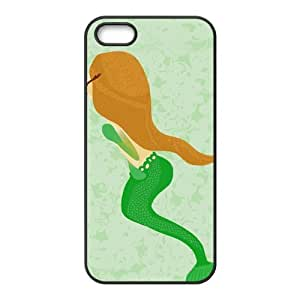 SnowPageboy- Custom TPU Rubber Phone Case for iPhone 5 / 5S - The Little Mermaid