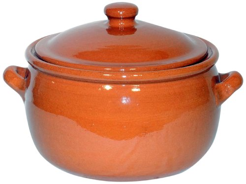 Amazing Cookware Natural Terracotta 3 Litre Stew Pot