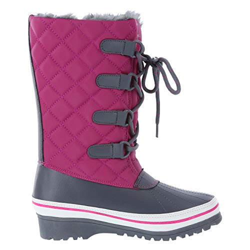 Pictures of Rugged Outback Rasberry Grey Girls' Blizzard -10 177441010 4