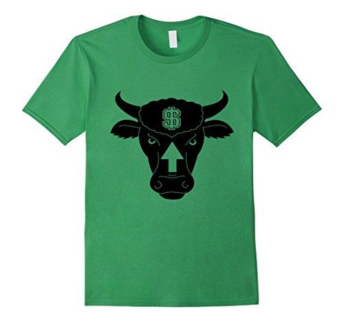 Men's Bull Market T-Shirt Stock Market Finance Dollar Gra...