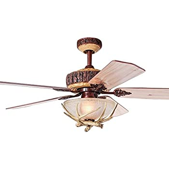 Vaxcel Fn56305bbz Yellowstone Ceiling Fan 56 Quot Burnished