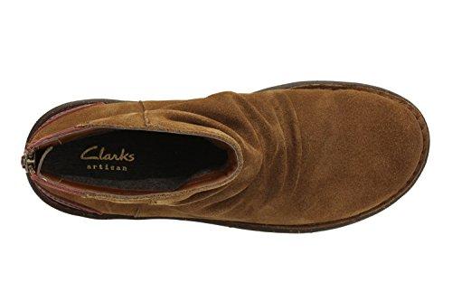 Femme Avington Marron Sswan Clarks Bottines Boots fIn88qT