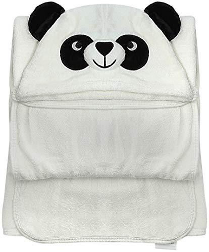 Baby Towel with Hood - 100% Organic Bamboo Hooded Panda Towel - Lilgoo by LilGoo (Image #1)