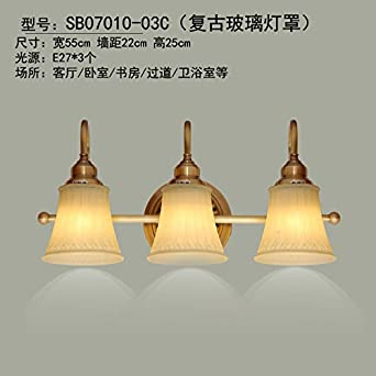 Bootu Led Dong Hangen Kupfer Leuchte Schlafzimmer Bett Hintergrund