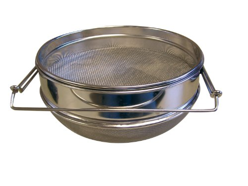 Mann Lake HH440 Stainless Steel Double Sieve