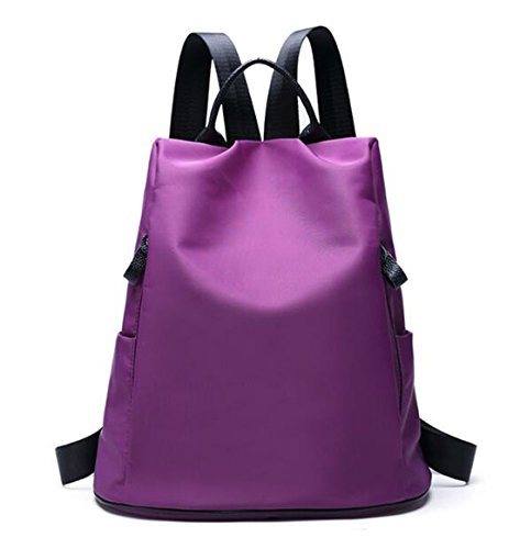 purple tm Bandolera B Bolso Púrpura Mochila Nailon Mujer Multifunctional De Totes Gold Kiss model OwUI55