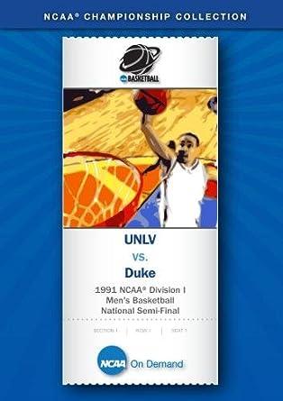 Amazon 1991 NCAAr Division I Mens Basketball National Semi