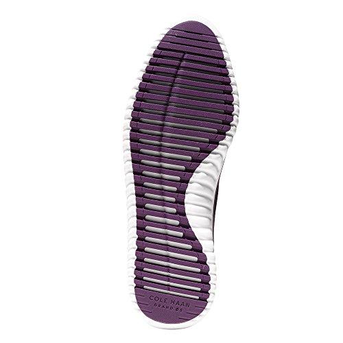 Cole Haan Studiogrand Knit Cross Strap Sneaker Plum Knit