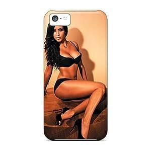 MMZ DIY PHONE CASEHot Tpu Cover Case For Iphone/ 5c Case Cover Skin - Kim Kardashian