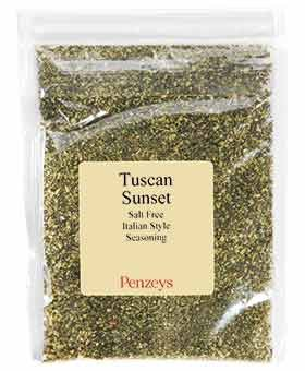 Tuscan Sunset By Penzeys Spices 1.5 oz 3/4 cup bag