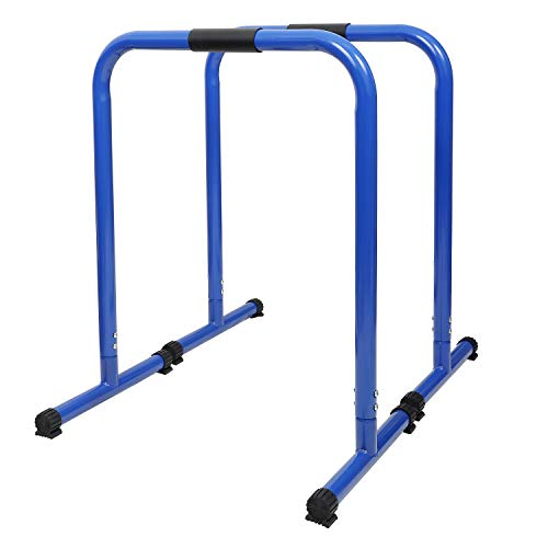 HeroFit Heavy Duty Dip Station, 350 LB Max Workout Bar Machine, Superior High-Performance Equalizer Bars for Triceps…
