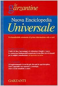 nuova enciclopedia universale garzanti