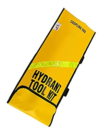 R&B Fabrications 441YL Vinyl Oversized Hydrant Tool Bag, Yellow