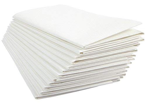 Ultimate Cloth The, Mirafiber - Advanced Microfiber Cleaning Cloth Reusable, EcoFriendly Chemical Free, Superior Multi-Surface Cleaning Cloth 12 Pack Medium Size White by Ultimate Cloth (Image #8)