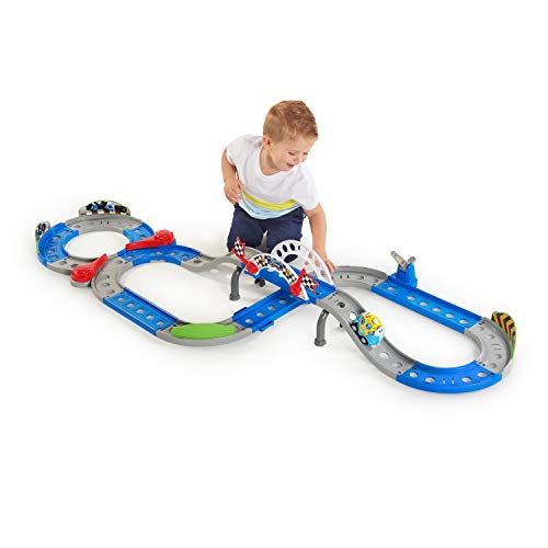 Bright Starts Ford Full Speed Raceway Go Grippers Playset Toddler Toy, 12 Months +