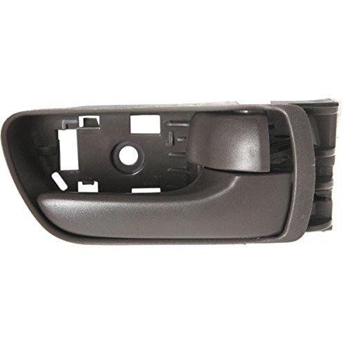 Diften 120-A0374-X01 - New Set of 2 Door Handles Left & Right Side Front Inner Interior Inside Pair