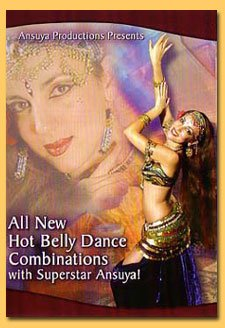 All New Hot Belly Dance Combinations W/ Ansuya