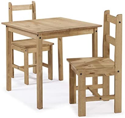 Corona Furniture Corona Rio Dining Table & 2 Chairs