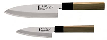 Amazon.com: Paderno World Cuisine Deba Japanese Sushi Knife ...