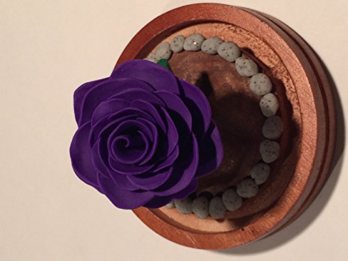 - Beauty and the Beast Purple Rose dome, Enchanted Rose, Purple Rose, Holiday Sale!