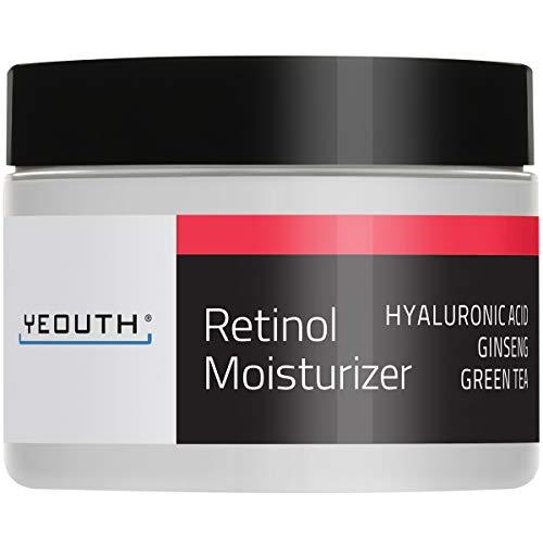 🥇 YEOUTH Retinol Cream Hidratante 2.5% para Rostro con Ácido Hialurónico