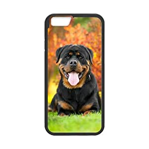 """GTROCG Rottweiler dog Phone Case For iPhone 6 Plus (5.5"""") [Pattern-1]"""