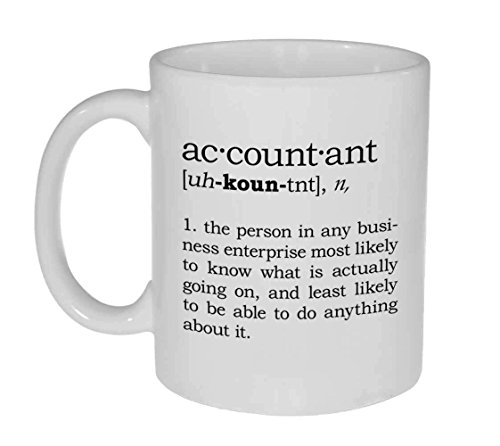 Accountant Definition Funny Coffee or Tea Mug