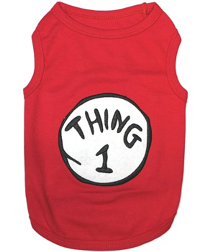 Pet Clothes THING 1Dog T-Shirt - X-Small