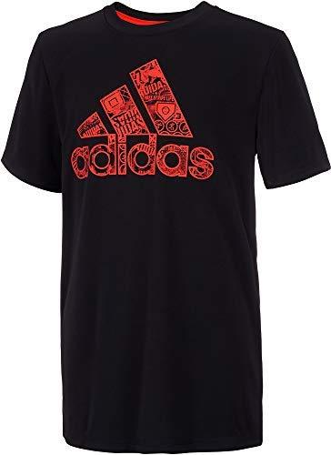 - adidas Boy's Multi Sport Graphic T-Shirt (Adi Black, X-Large)