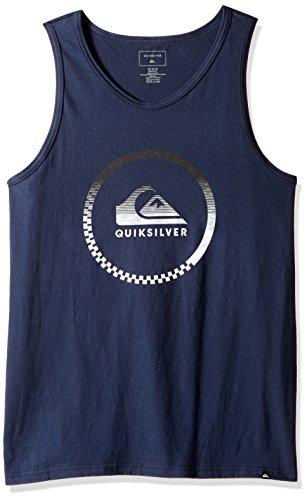 Quiksilver Men's Active Momentum Tank T-Shirt, Navy Blaze...
