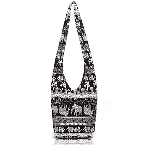 Women Hand Fashion canvas Crossbody Bags Cotton Bohemian Animal Prints Hobo Bags