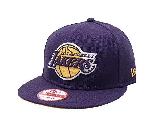 New Era Mens Hat LA Lakers Kobe Bryant Retirement Collection Ball 24 9Fifty Cap (Kobe Bryant Hat)