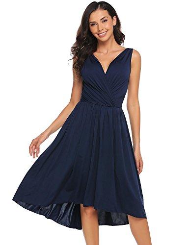 V-Neck Dress - 1