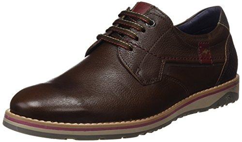 Fluchos Zapatos Castaño Spain Cordones Hombre Derby de Retail Brad ES para Marrón wqr4OAw