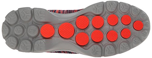 Skechers Performance Womens Go Walk 3 Fitknit Extreme Slip-On Walking Shoe Navy/Coral 2gJflUQG0