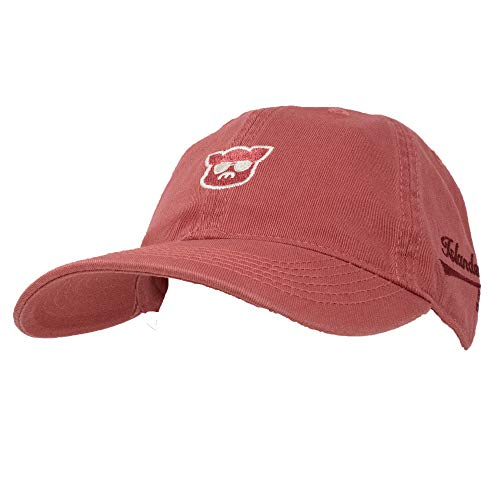 Islanders Pig Face Relaxed Twill Adjustable Hat, Nantucket Red, One Size (Antique Islander Brass)