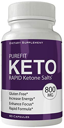 Purefit Keto Advanced Weight Loss Supplement - Purefit Keto Pills Weight Loss Capsules - Advanced Weight Loss 800 mg Formula Pills - BHB Salts Tablets Original by nutra4health
